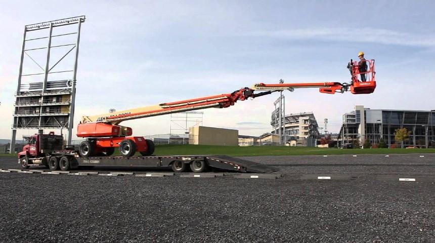 Telescopic boom lift for sale